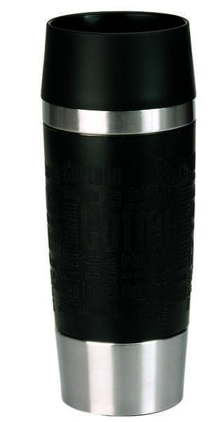 emsa travel mug schwarz mit gravur. Black Bedroom Furniture Sets. Home Design Ideas